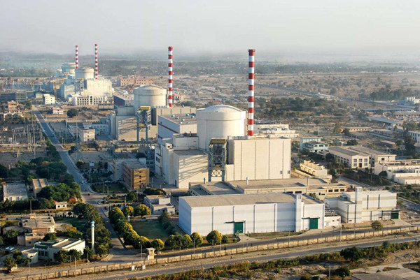 Chasma nuclear power plant in Pakistan (Photo: CNNC)