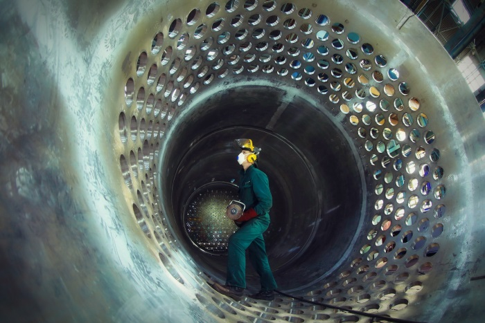 The core barrel was completed for the Rooppur nuclear plant in May (Photo: Rosatom)