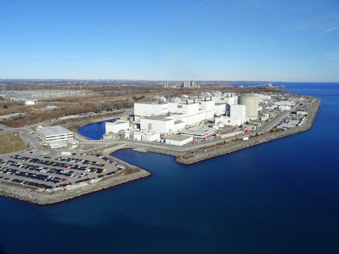Darlington nuclear generating station in Ontario, Canada (credit: OPG)