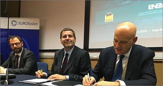 Eni and ENEA form alliance to establish centre for fusion research (Credit: ENEA)