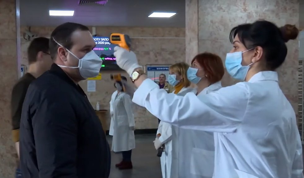 Energoatom is monitoring the health of key workers