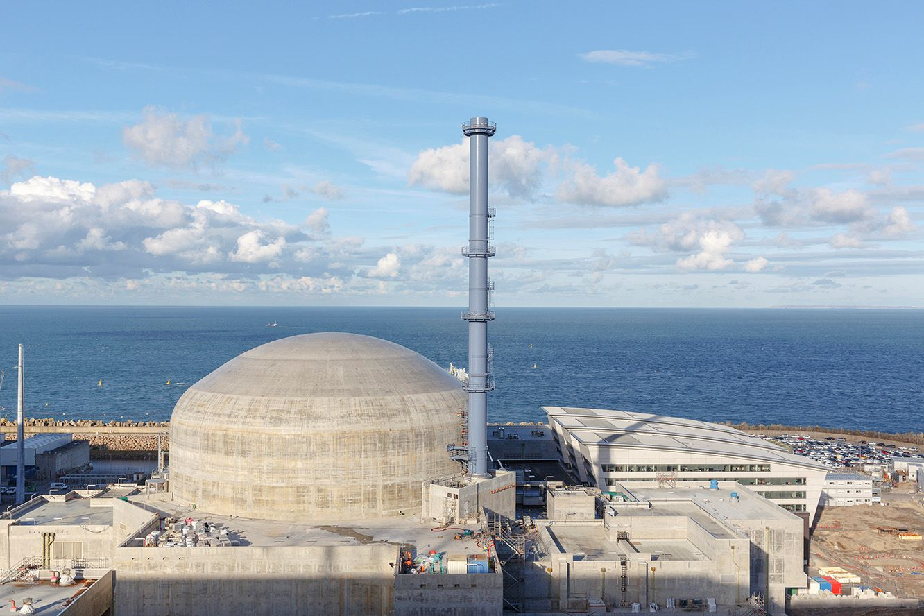 The Flamanville 3 EPR has been granted regulatory approval to receive nuclear fuel on site (Credit: ASN)