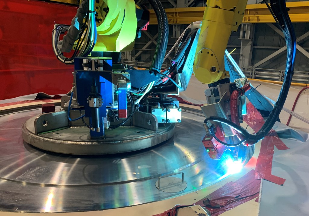 HI-BRIAN welding (Photo: Holtec International)