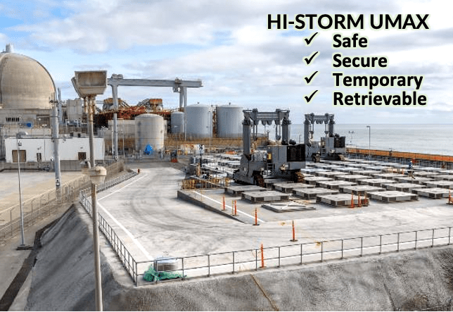 HI-STORM UMAX system could be used in Japan (Credit: Holtec International)