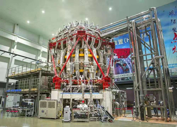 The HL-2M tokamak reactor, developed by the CNNC Southwestern Institute of Physics [Photo/CNNC]