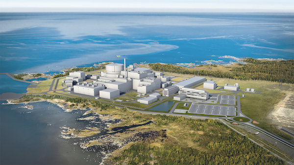 Photo: Proposed Hanhikivi nuclear power plant (Credit: Fennovoima)