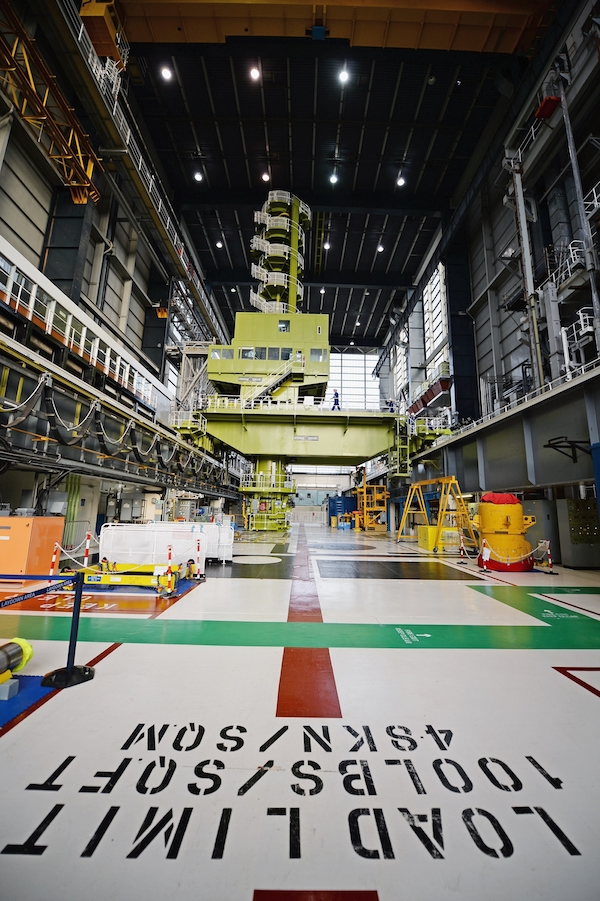 Inside Hunterston B (Photo: EDF Energy)