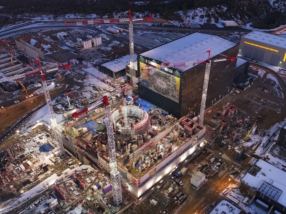 Iter project under construction (Source: Assystem)