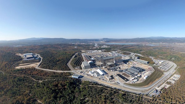 Photo: ITER site pictured in November 2020 (Credit: Iter Organization)