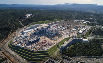 Aerial view of ITER construction site, Cadarache, France, October 2019 © ITER Organization/EJF Riche