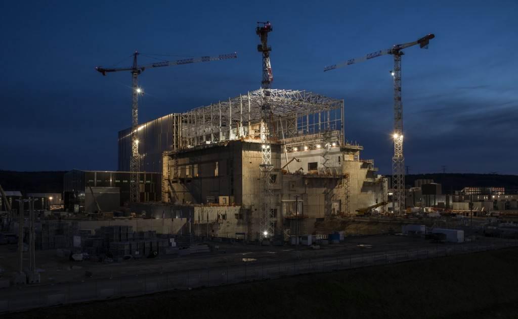 ITER Tokamak building pictured in Janaury 2020 (Credit Iter Organization)