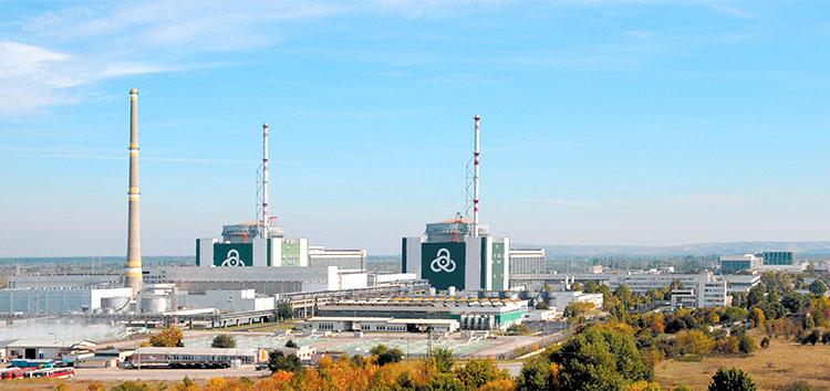 Kozoloduy nuclear plnat in Bulgaria (Credit KNPP)