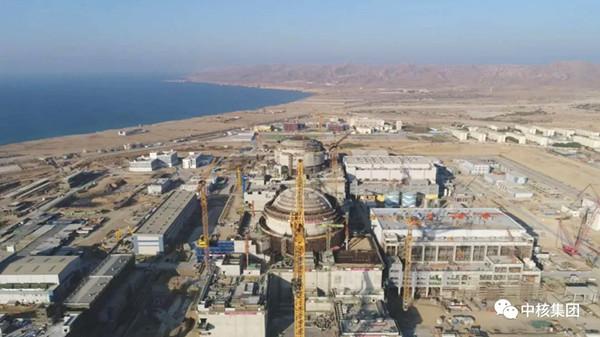 The K-3 unit of the Karachi nuclear power plant in Pakistan. [Photo/CNNC]