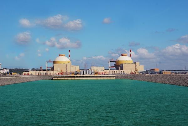 India's Kudankulam nuclear power plant