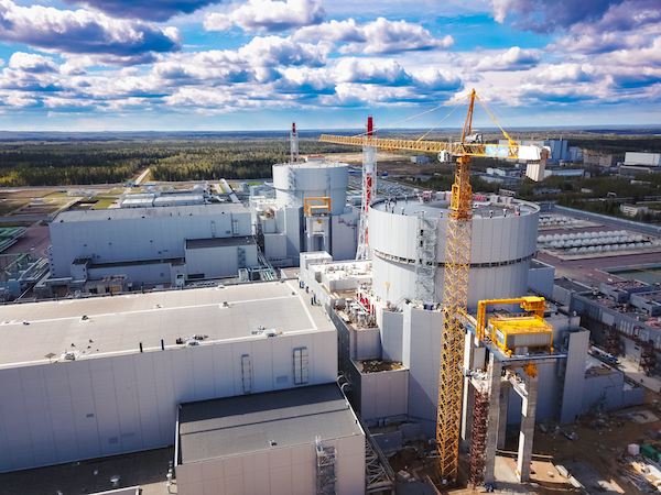 Leningrad II has started supplying district heating (Credit: Rosenergoatom)
