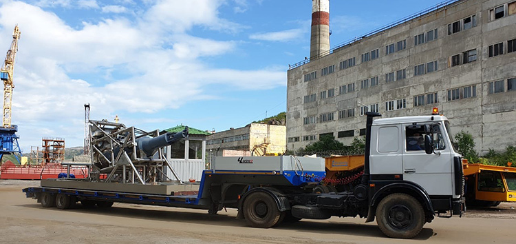 Lepse fuel assemblies removal in northwest Russia completed (photo: EBRD)