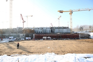 MBIR construction site, pictured in December (Photo: Orgenergostroy)