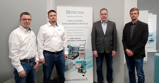 Finland's Metecno Oy will design, manufacture and install a machining station at Finland's nuclear fuel encapsulation plant