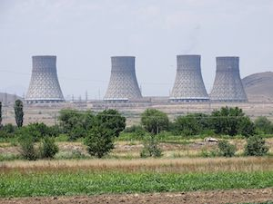 Metsamor nuclear power plant, cooling towers (Photo credit: Adam Jones Armenia, June 2015)