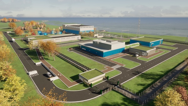 Moltex Energy's Stable Salt Reactor technology is under consideration in New Brunswick (Credit: Moltex)