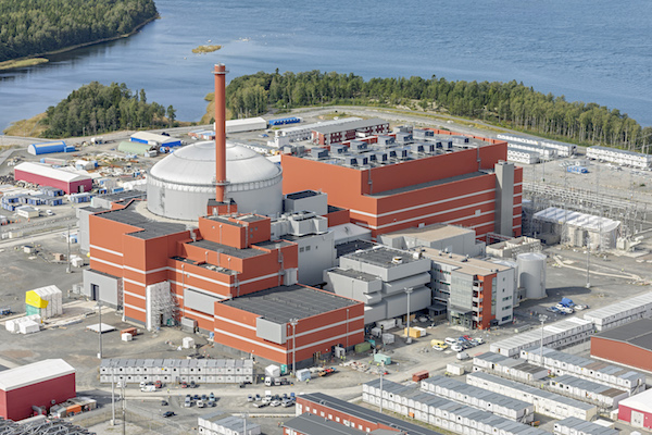 Olkiluoto 3 nuclear plant (credit: TVO)