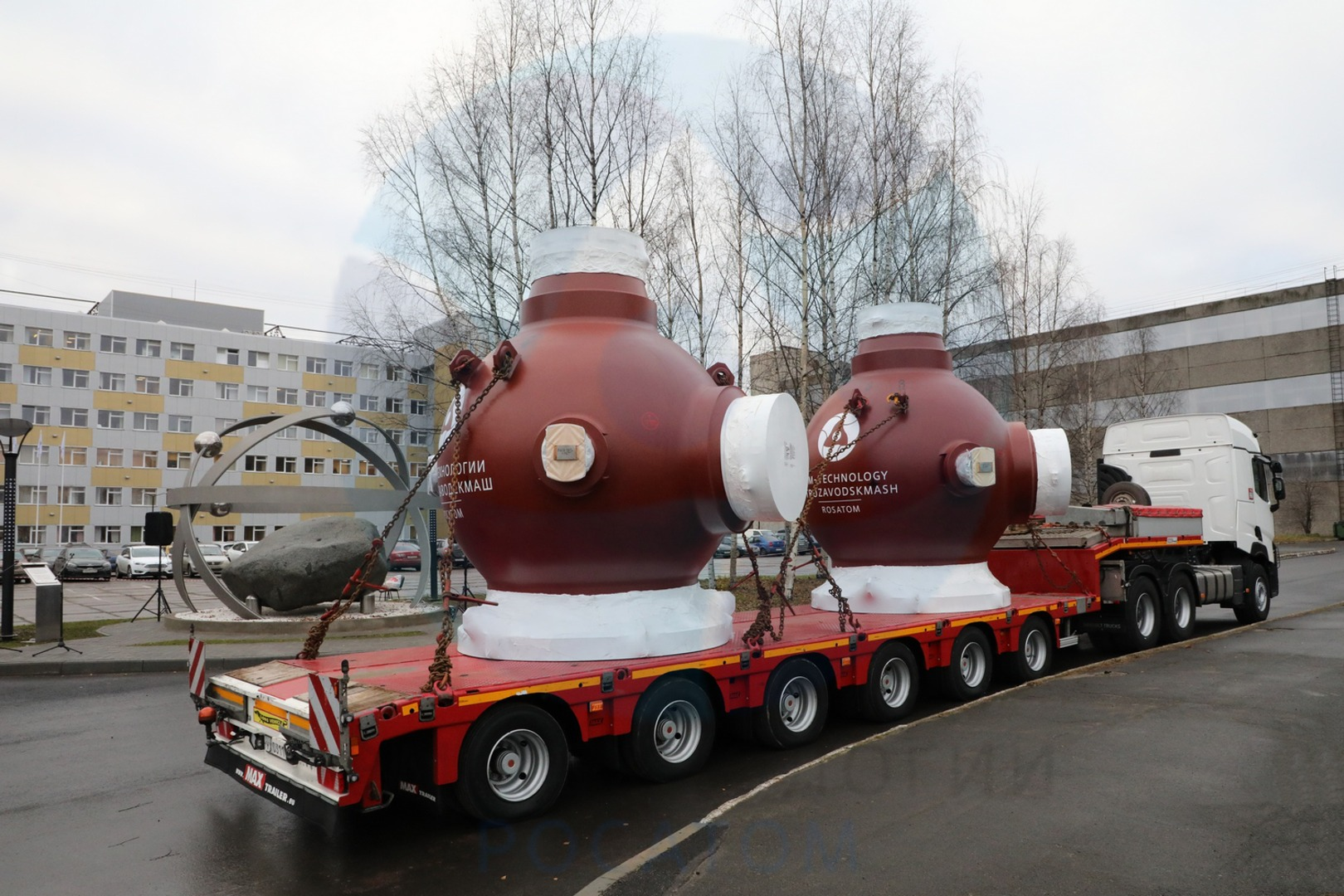 The set of RCP casings for the main circulation pumping units of Akkuyu 1 (Credit: AEM-Technologies)