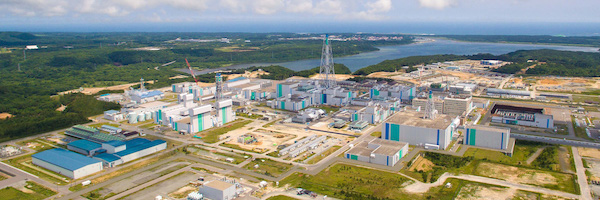 Rokkasho Reprocessing Plant (Credit: JNFL)