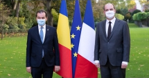 Photo: Romanian Prime Minister Ludovic Orban Met with the French Prime Minister Jean Castex earlier this week (Credit: Romanian Government)