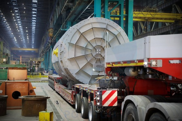 The reactor pressure vessel internals have been shipped to Bangladesh (Photo: AEM)