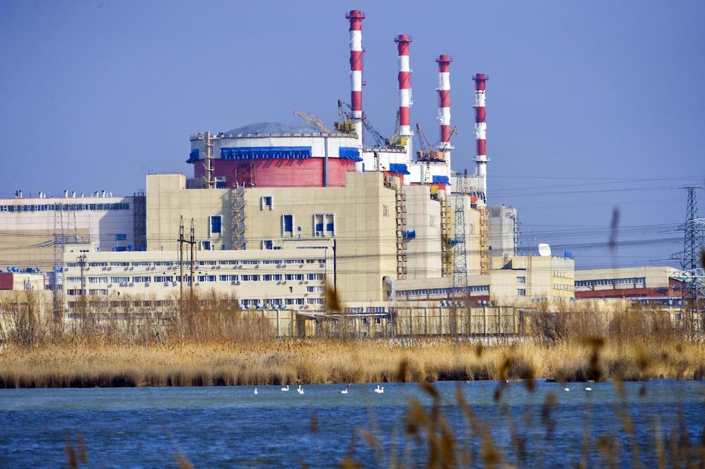 Russia's Rostov nuclear power plant (Credit: Rosenergoatom)