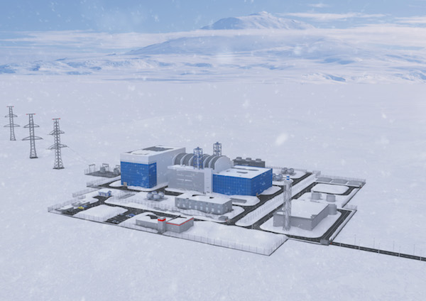 Rosatom is planning to build a small nuclear power plant in the Arctic region of Yakutia (Credit: Rosatom)
