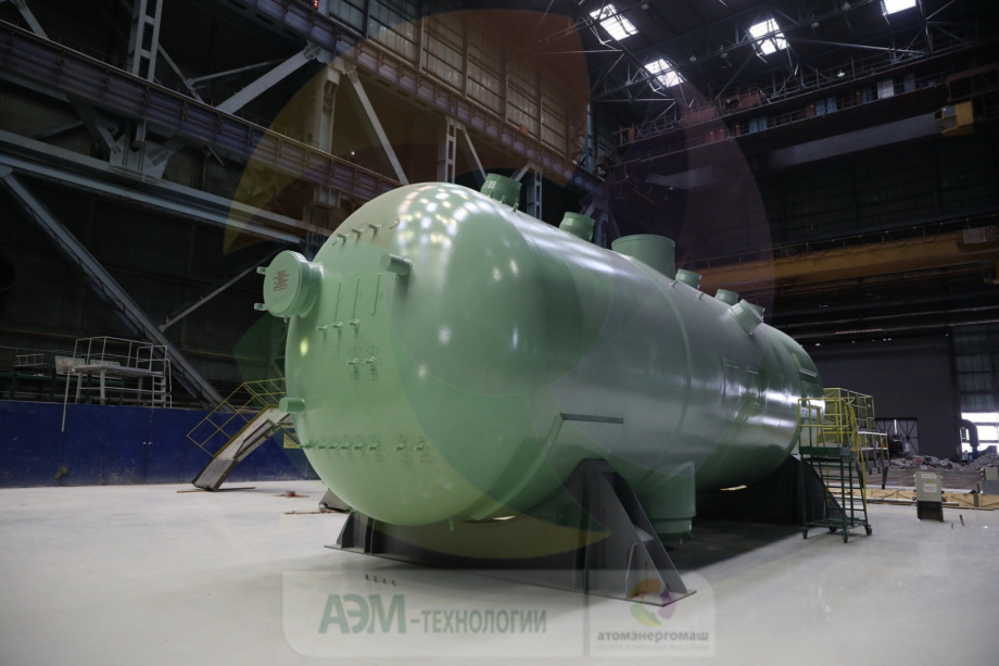 Steam generator for Kudankulam 4 was completed in Janaury (Photo: AEM)
