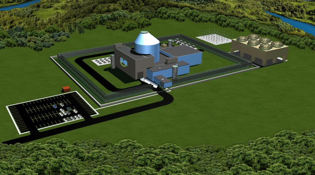 The SMR-160 small modular reactor (Photo: Holtec International)