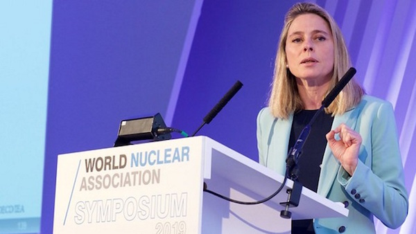 Sama Bilbao y León is the new director general of the World Nuclear Association (Photo: WNA)