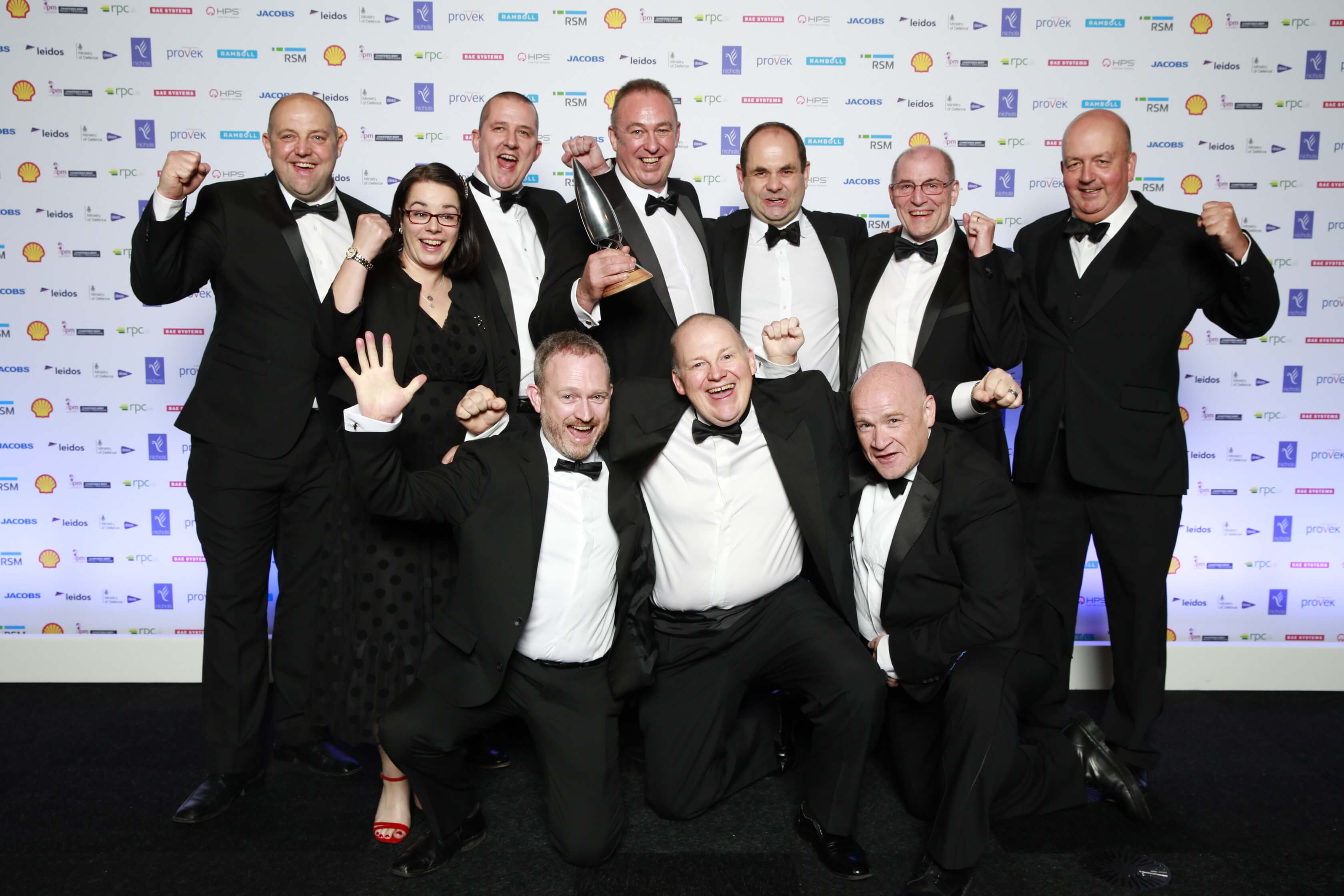 Sellafield Ltd, Balfour Beatty and Cavendish Nuclear collect APM award for Silo Maintenance Facility