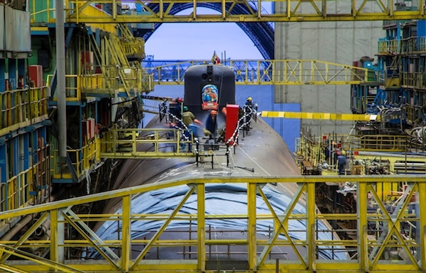 Sevmash is introducing a modular construction method for nuclear submarines
