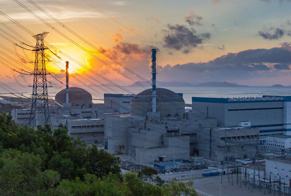 Taishan nuclear plant (Credit: EDF)