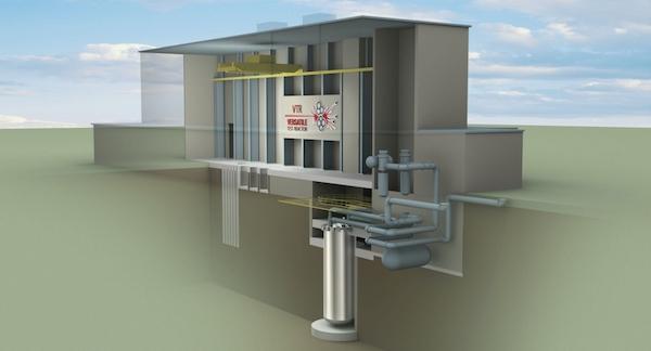 Cutaway of the Versatile Test Reactor (Photo: INL)