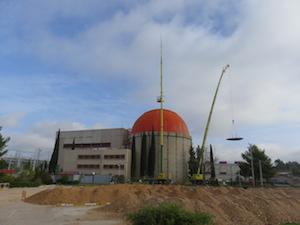 Dismantling dome at Zorita nuclear plant (credit: Enresa)