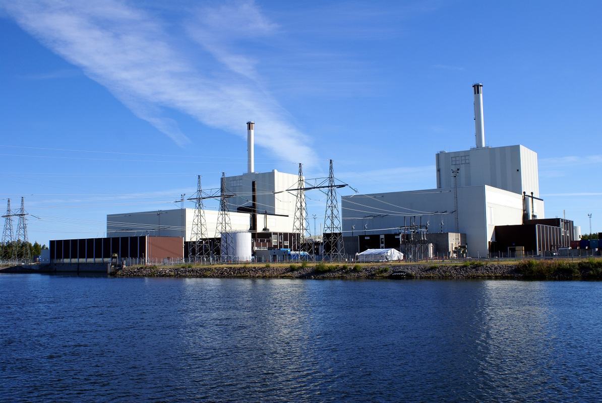 Forsmark nuclear power plant (Credit: Vattenfall)