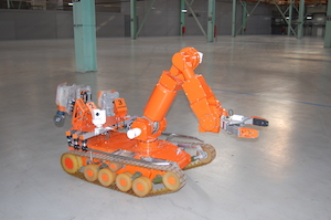 Robot for dismantling graphite reactors (credit: Special Design and Technological Bureau of Applied Robotics)