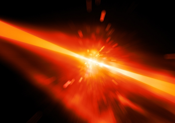 Laser fusion (photo: shutterstock)