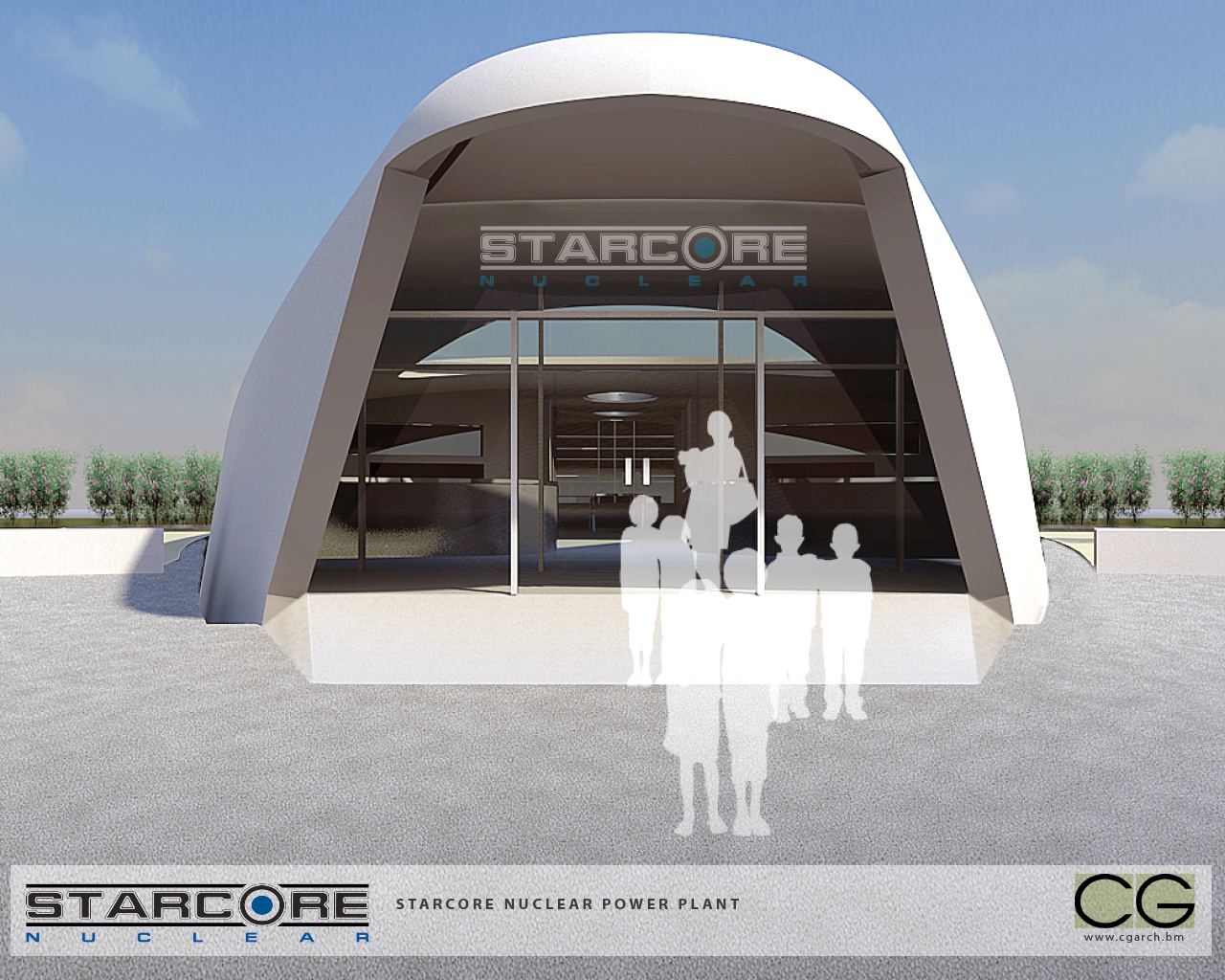 StarCore nuclear power plant (Credit: StarCore)