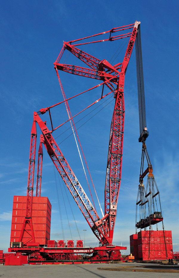 Mammoet PTC crane for Samsung project - Cranes Today