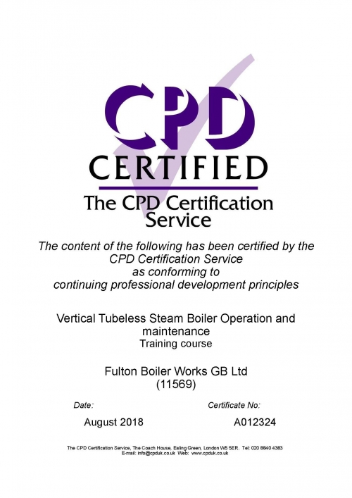 Fulton Training Achieves Cpd Certification Laundry And Cleaning News