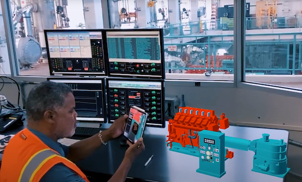 Augmented reality for nuclear operations (Photo credit: Taqtile)