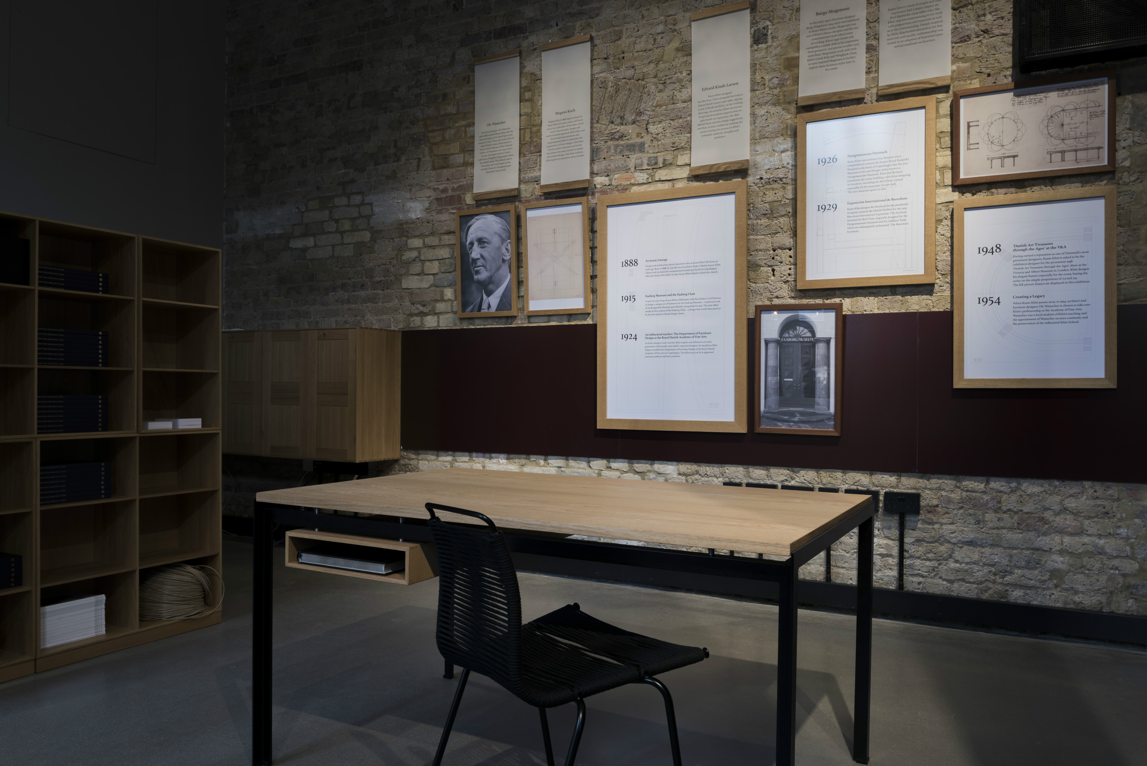To the story of danish modern design starts here an exhibition and conversation on the living history of the danish modern furniture movement