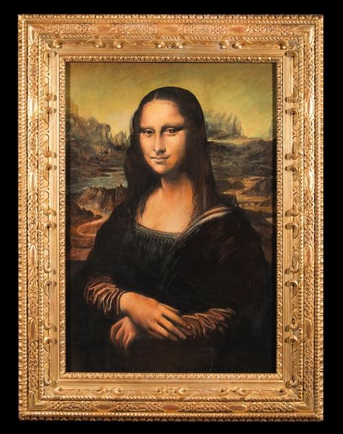 Mona Lisa Replica Painted Using Eyelash Designcurial