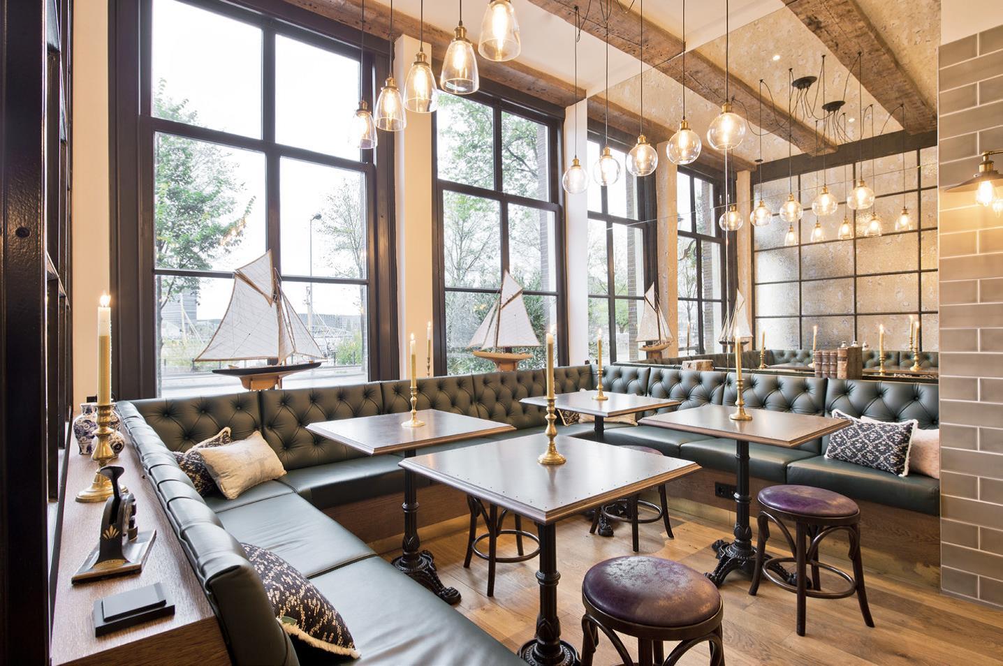 Hilary lancaster creates royal interiors for the hendrick for Design hotel amsterdam