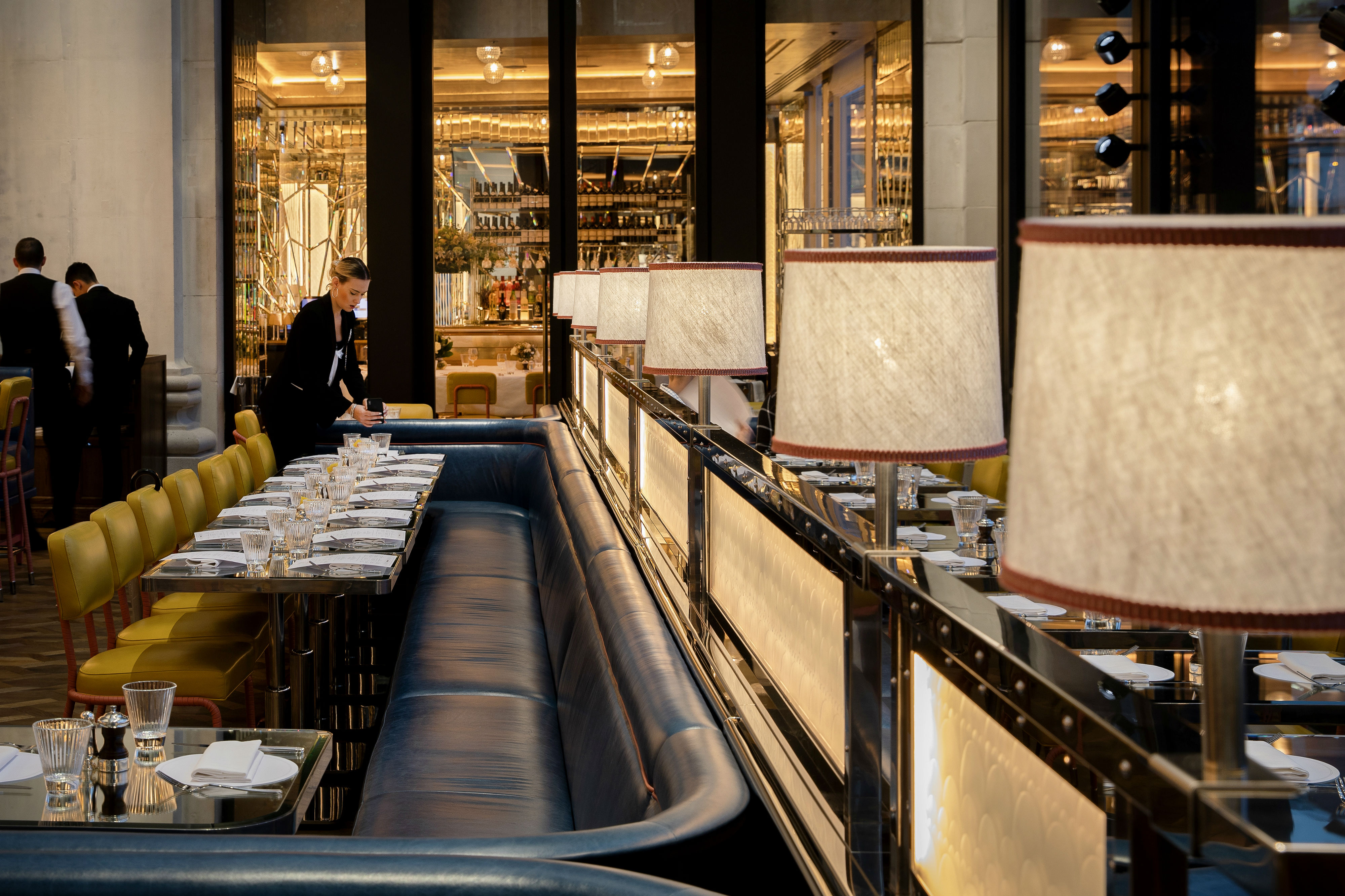be55eea3e0f9 The dazzling centrepiece at the heart of Brasserie of Light is a 24ft-high